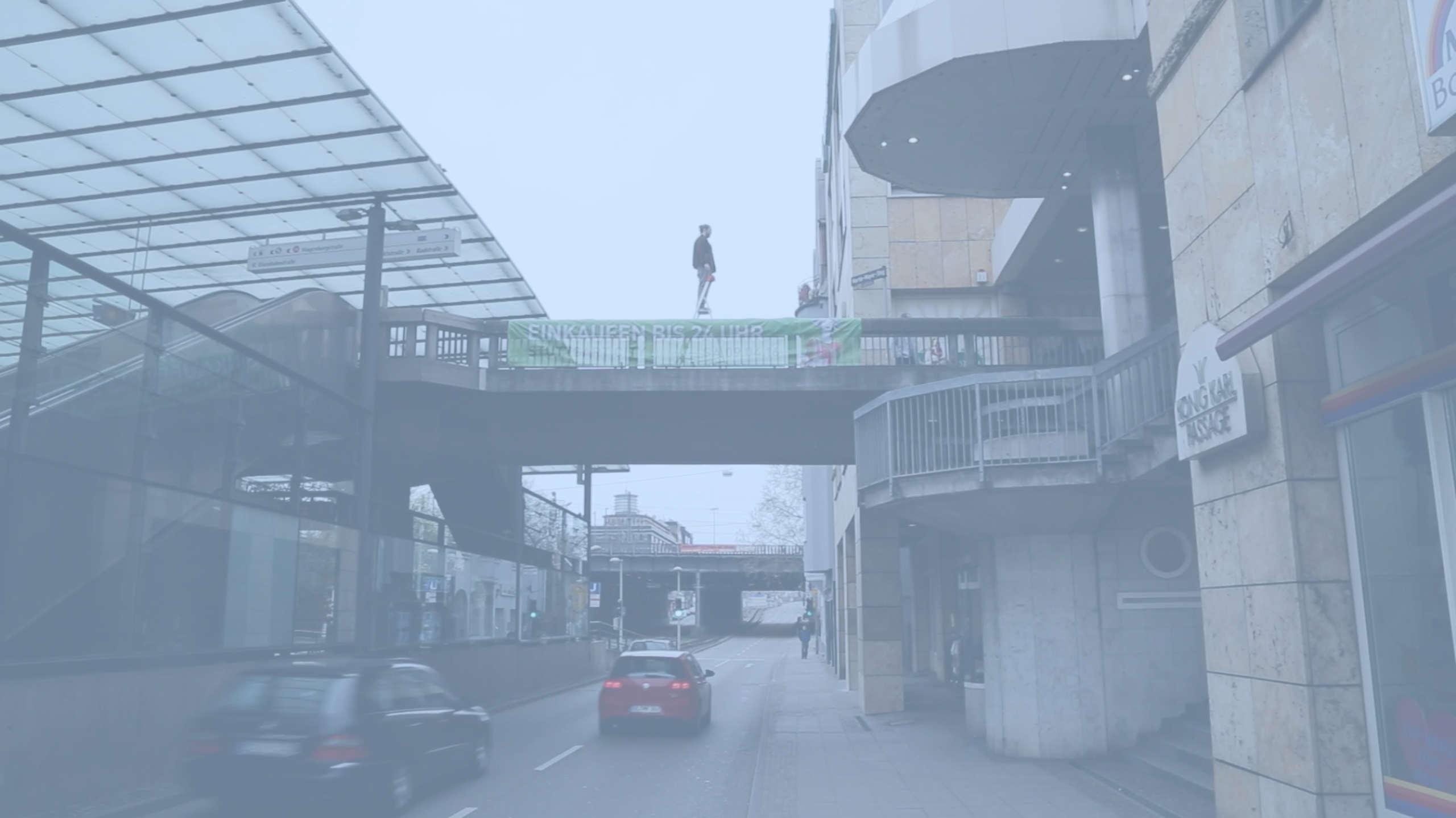 Mailand / Innenhof